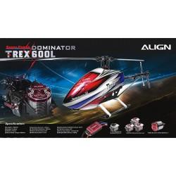 Align T-REX 600L Dominator Combo (RH60E16A)