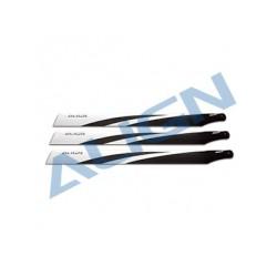 Pales fibre de carbone 520 x3 - Align HD520D