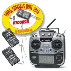 Radio Futaba T14SG - mode 2