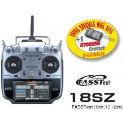 Radio Futaba 18SZ - mode 1