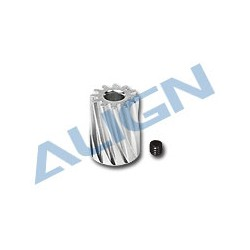 Pignon moteur hélicoidal 12 dents (H45157)