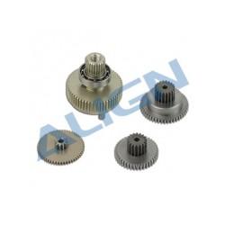 Set de pignons servos Align DS825 (HSP82501)
