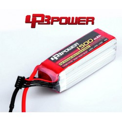 Pack Lipo LPB Power 1500 mAh 6S1P 45C
