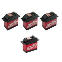 Combo servos MKS HBL665 + HBL669