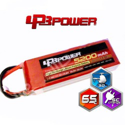 Pack Lipo LPB Power 5200 mAh 6S1P 65C Light