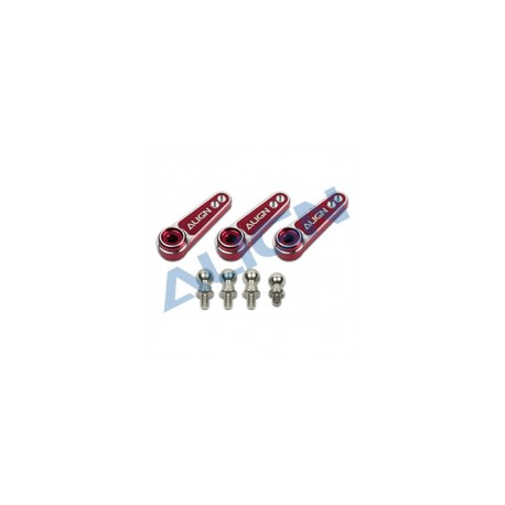 Palonnier de servo métallique D6FF (HSP61015QRT)