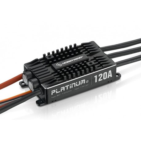 Hobbywing Platinum 120A V4 BEC 10A (3-6S)