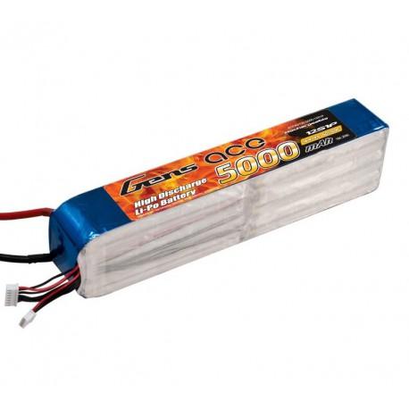 Pack LiPo GENS ACE 5000 mAh 12S1P 60C