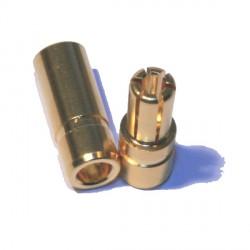 Connecteur 5,5mm plaqué or (HQ)