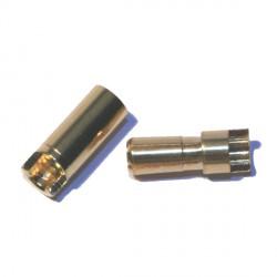 Connecteur 5,5 mm plaqué or (SQ)
