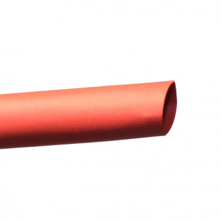 Gaine thermorétractable 6/2 mm rouge (1m)