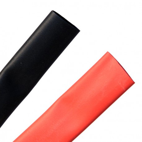 Heat shrink tubing 9.5/4.8 mm red