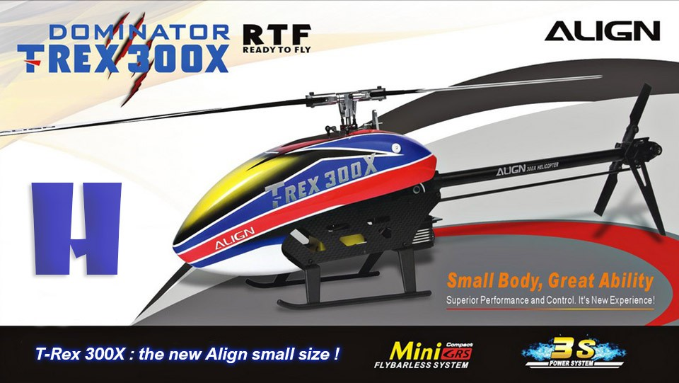 Align T-Rex 300 - Helistore