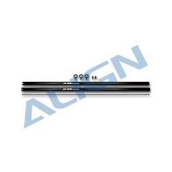 700 Aluminum Tail Boom/Black (HN7047)