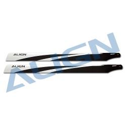 Pales fibre de carbone 600 (Align)