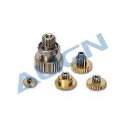 Set de pignons servo Align DS515 (HSP51502)