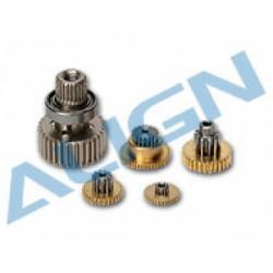 Set de pignons servo Align DS525 (HSP52501)