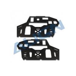 Align T-Rex 550E PRO rc heli carbon Fiber main frame-2.0mm (H55B003XX)