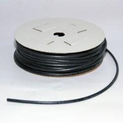 Câble multibrins cuivre silicone 4.0mm² noir