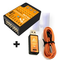 BEASTX MICROBEAST PLUS + Interface USB Microbeast USB2SYS pour hélicoptère télécommandé