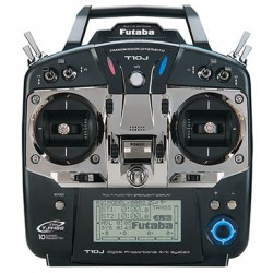 Radio-commande Futaba 10J - mode 2