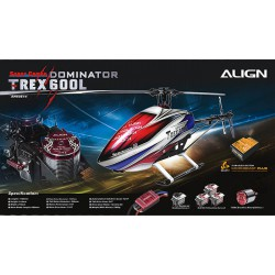 Align T-REX 600L Dominator Super Combo Microbeast Plus (RH60E14A)