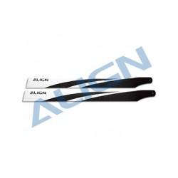 380 Carbon Fiber Blades - Align HD380A