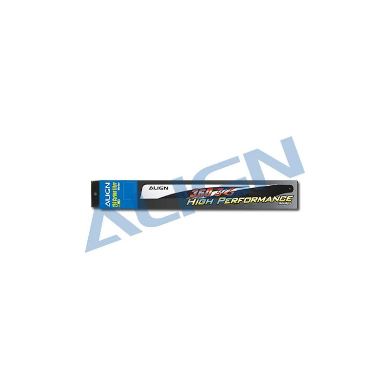 HD360B 360 Carbon Fiber Blades-Blue ALIGN