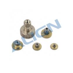Set de pignons servo Align DS535 (HSP53502)