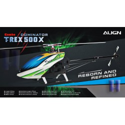 Hélicoptère Align T-REX 500X Dominator Combo (RH50E18X)