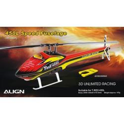Speed Fuselage hélicoptère radio commandé Align T-Rex 450L