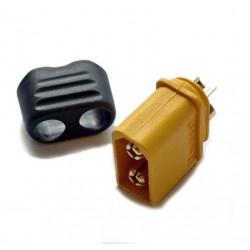 Connecteur XT60+ (mâle) pour batterie Lipo