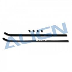 Align T-REX 650/700 rc heli skid pipe / black T-Rex 650/700 (HN7049)