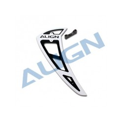 800E PRO Vertical Stabilizer-White (H80T014XX)