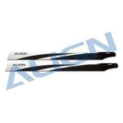 800mm carbon fiber main blades - Align HD800A