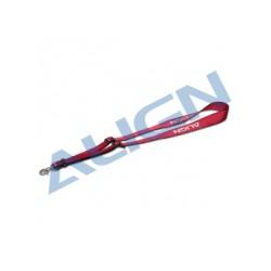 Align radio strap - Cherry Red - HOS00011