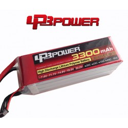 Pack Lipo LPB Power 3300 mAh 6S1P 65C
