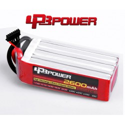 Pack Lipo LPB Power 2600 mAh 6S1P 65C