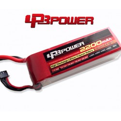 Pack Lipo LPB Power 2200 mAh 3S1P 65C