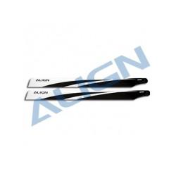 760 Carbon Fiber Blades - Align HD760A