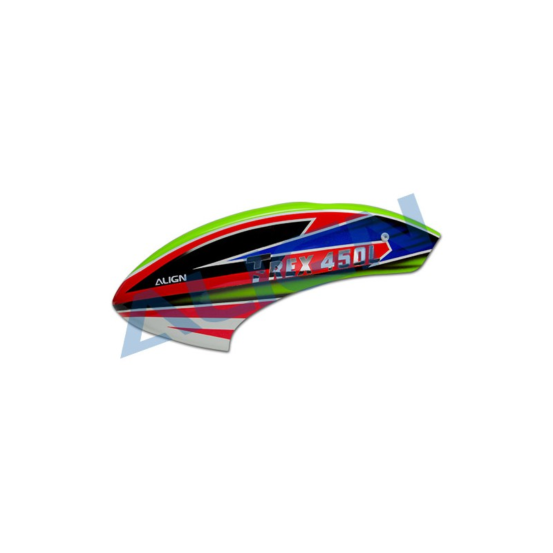 HC4357 Align 450 L Dominator painted canopy
