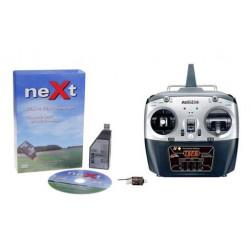 neXt CGM RC Flight Simulator RX2SIM + Radiolink TF8BBT mode 1