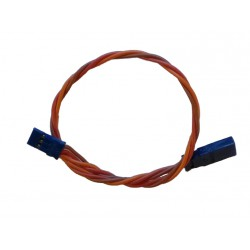 JR Straight Extension Wire - 0,35mm² - 250mm - Silicon Wire