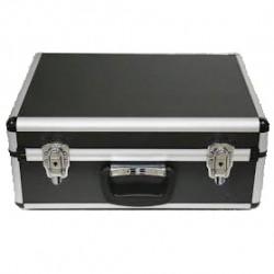 Aluminium Double Transmitter Case. Size: 420x310x165 mm