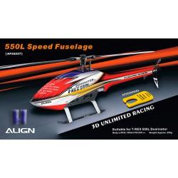 Speed Fuselage hélicoptère radio commandé Align T-Rex 550L (HF5505)