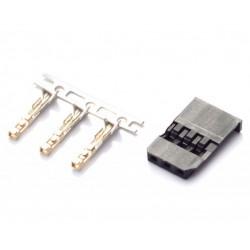 Futaba female connector (x5)