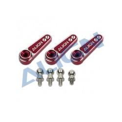 D6FF Metal Servo Horn (M2.5) - Red (HSP61015QRT)