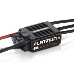 Hobbywing Platinum 60A ESC V4 2-6s, 7A BEC brushless ESC