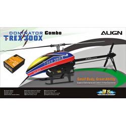Hélicoptère Align T-REX 300X Dominator Combo BeastX