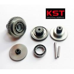 Set de pignons servos KST DS725MG/BLS815/BLS915/X20-2208/MS2208/X20-9650/MS725/MS815